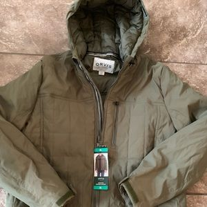Orvis Quilted Hooded Jacket NEW